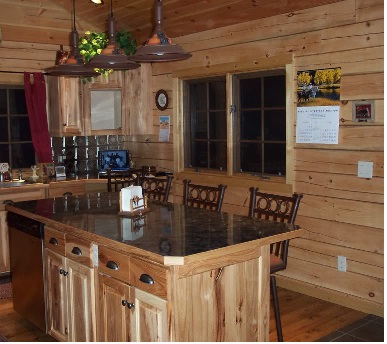 kitchen cabinet ideas for a cabin photo - 6