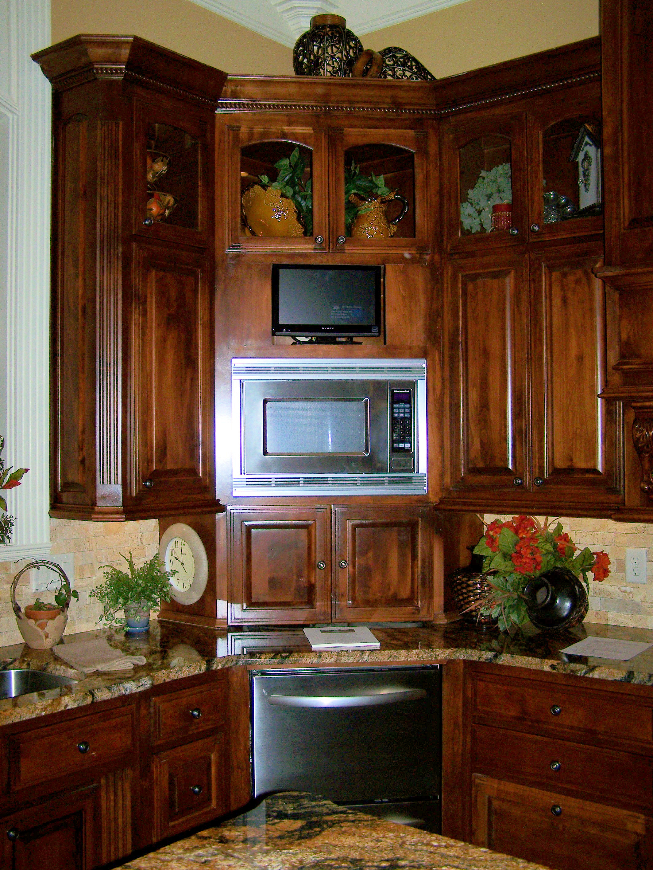 Kitchen Corner Furniture Corner Kitchen Wall Cabinet Sizes Crowdsmachinecom