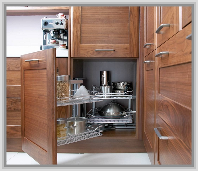 kitchen cabinet ideas for corners photo - 3