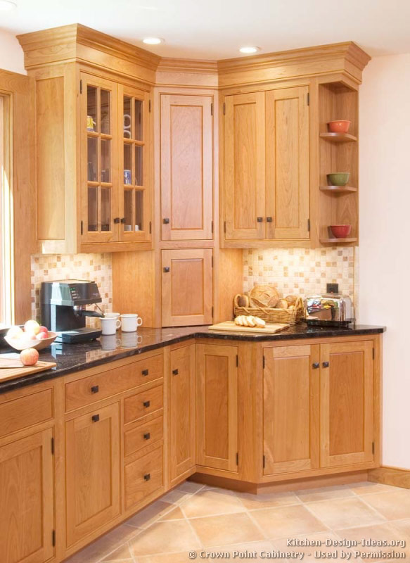 kitchen cabinet ideas for corners photo - 4