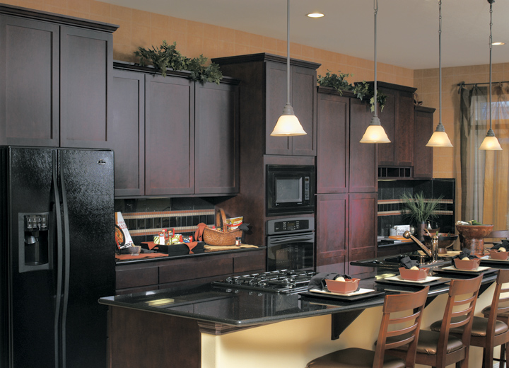 good What Color To Paint Kitchen Cabinets With Black Appliances #6: Kitchen Cabinet Ideas With Black Appliances | Interior \u0026 Exterior .