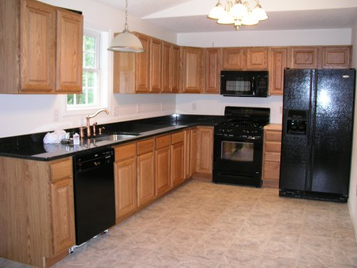Kitchen Cabinet Ideas With Black Appliances - Sarkem.net