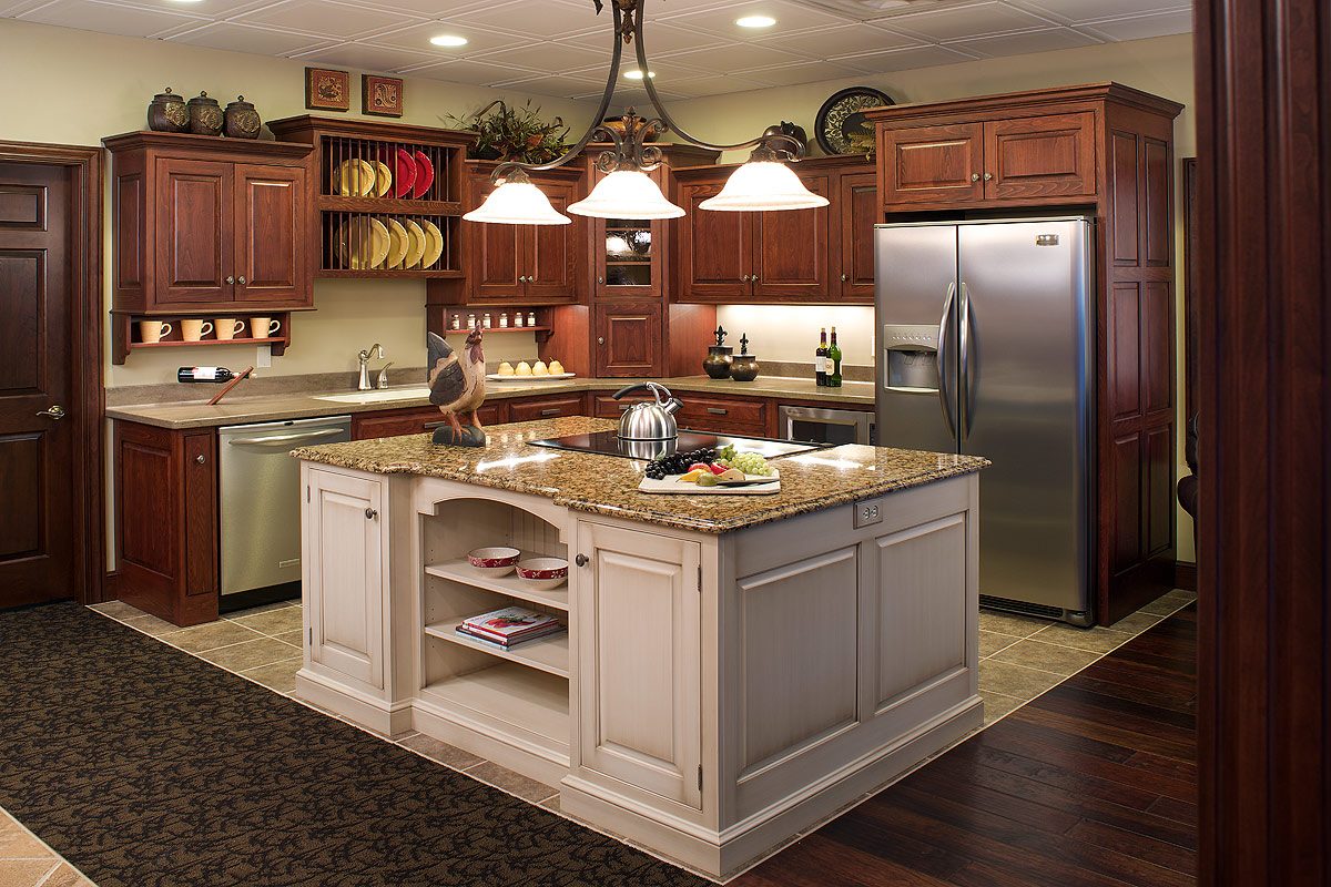 kitchen cabinet ideas with island - Kitchen Cabinets Islands Ideas