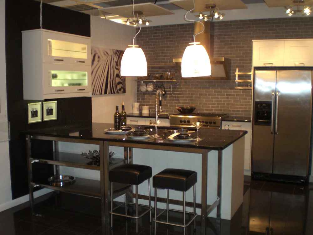kitchen cabinet peninsula ideas photo - 6