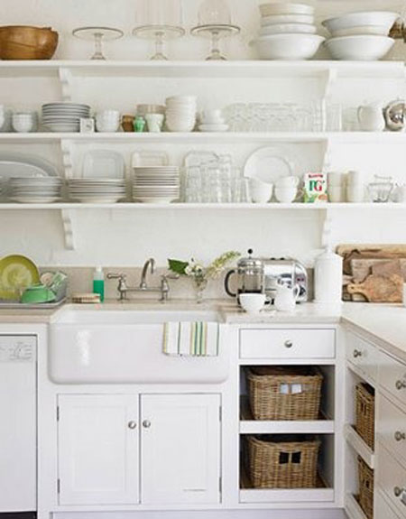 kitchen cabinet shelf ideas photo - 5