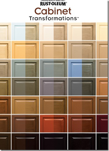 Kitchen cabinet stain colors stunning revamp your kitchen for Colour charts for kitchens