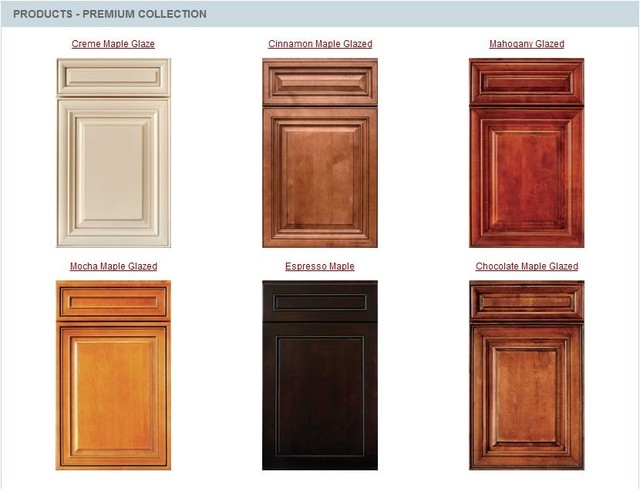 kitchen cabinet stain color samples photo - 1