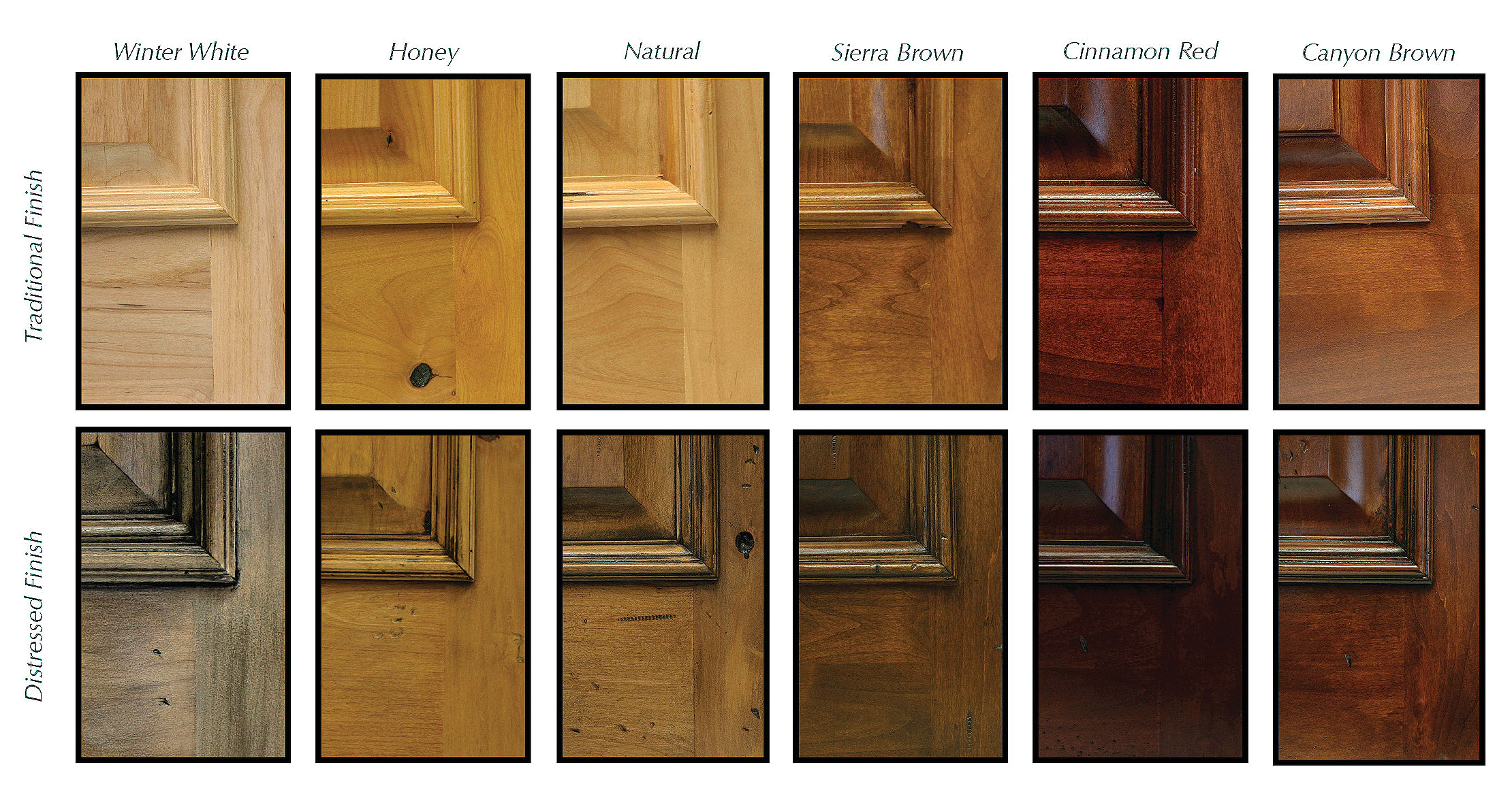 Interior door stain colors image for Kitchen samples