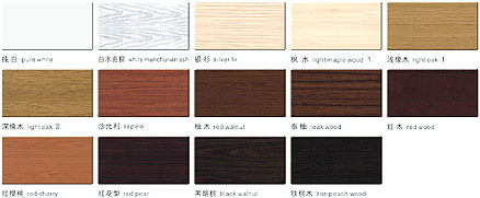kitchen cabinet stain color samples photo - 5