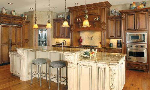 kitchen cabinet stain colors home depot photo - 1