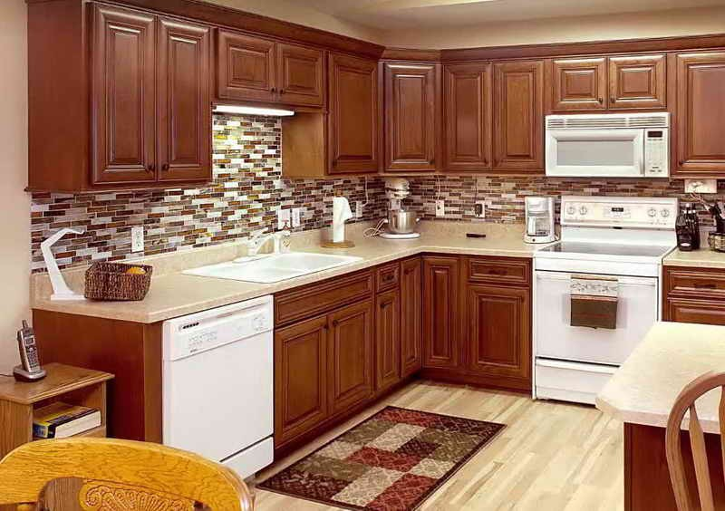 Stain colors for kitchen cabinets for Kitchen cabinets at home depot