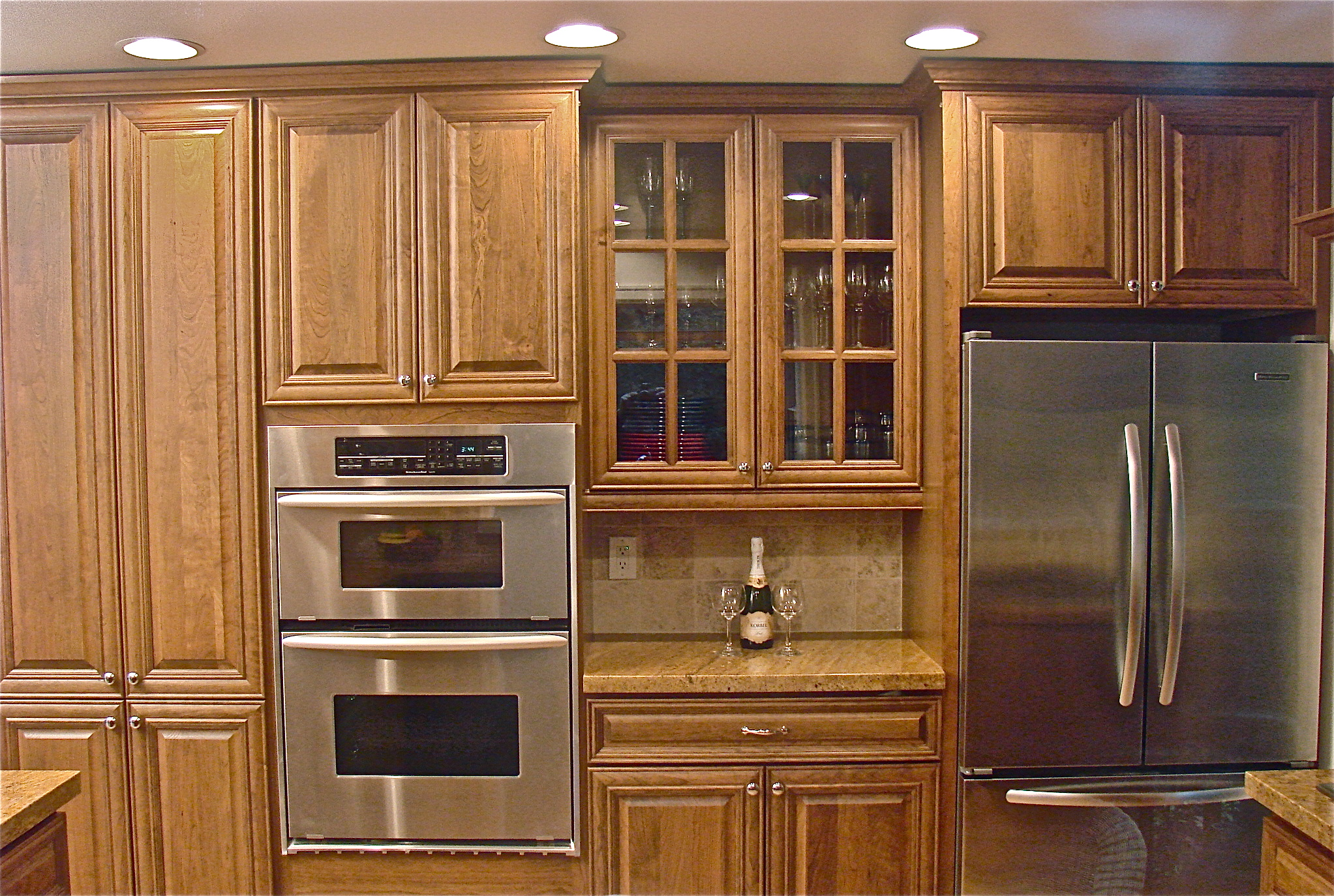 kitchen cabinet stain colors home depot photo - 5