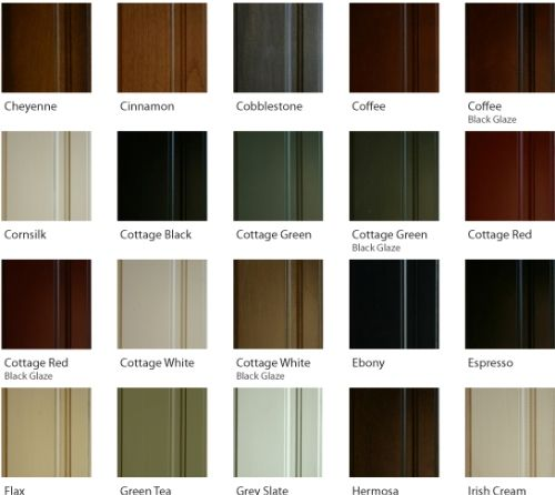 kitchen cabinet stain colours photo - 5