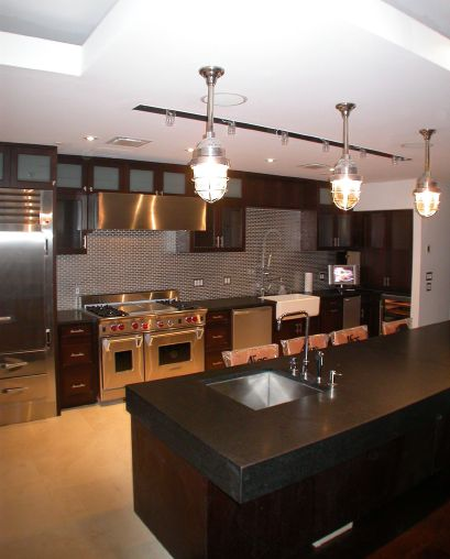 kitchen cabinet stain cost photo - 3