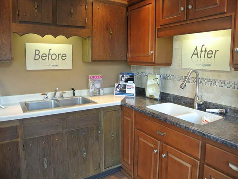 kitchen cabinet stain cost photo - 5
