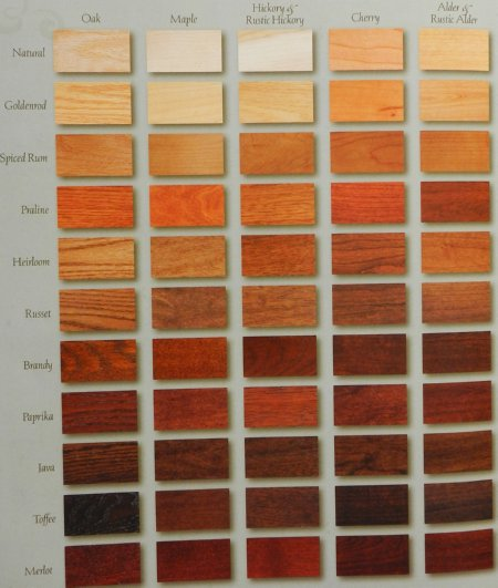 kitchen cabinet wood stain colors photo - 2