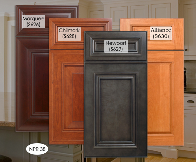 kitchen cabinet wood stain colors photo - 3
