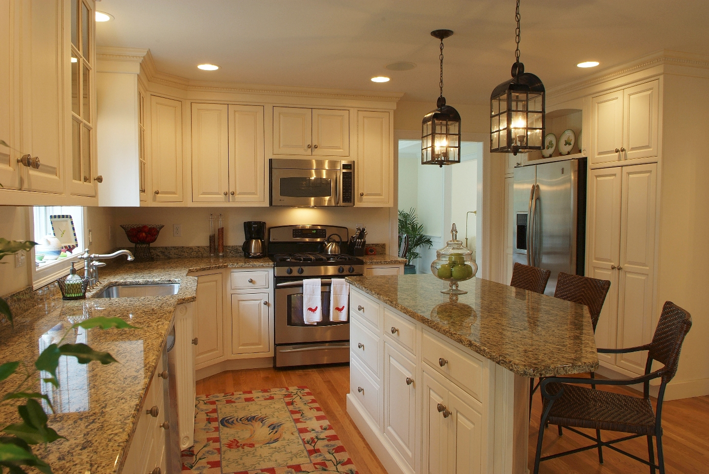 kitchen cabinets ideas colors photo - 4