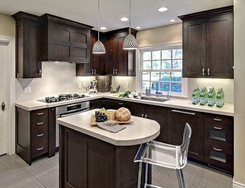 kitchen cabinets ideas for small kitchen photo - 3