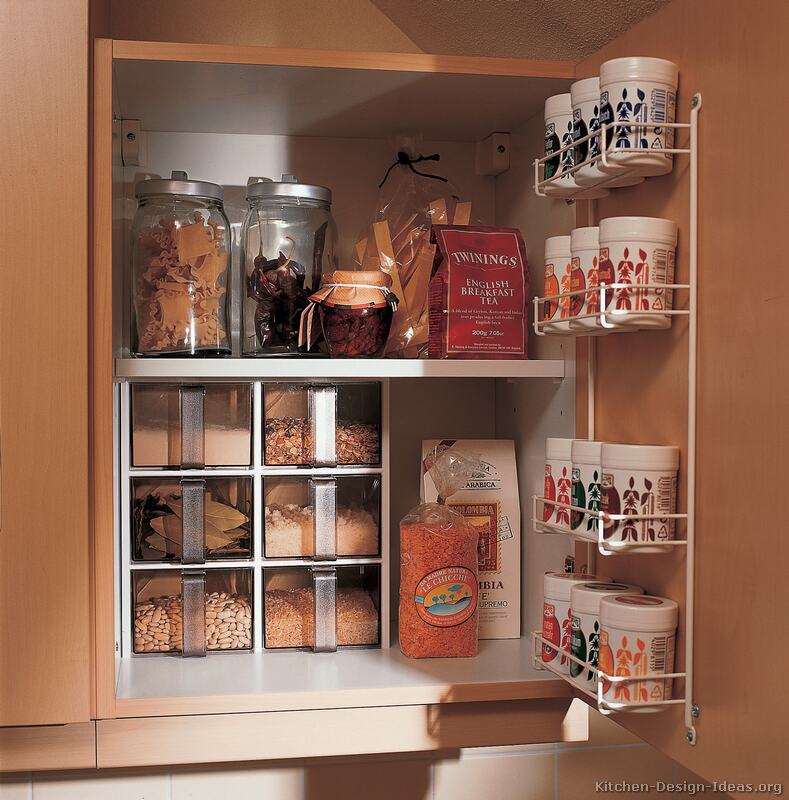 kitchen cabinets ideas for storage photo - 1