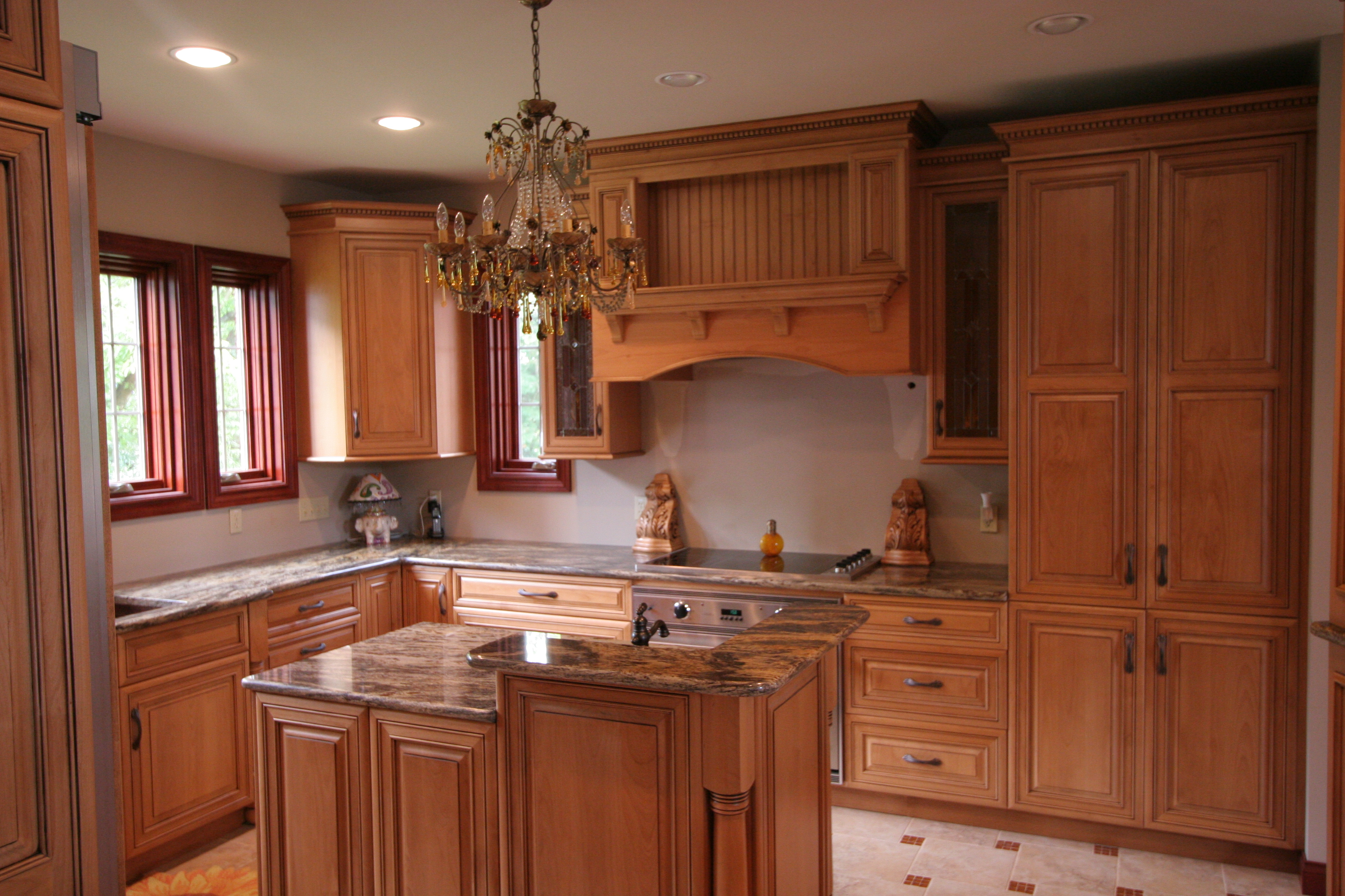 kitchen cabinets layout ideas photo - 5