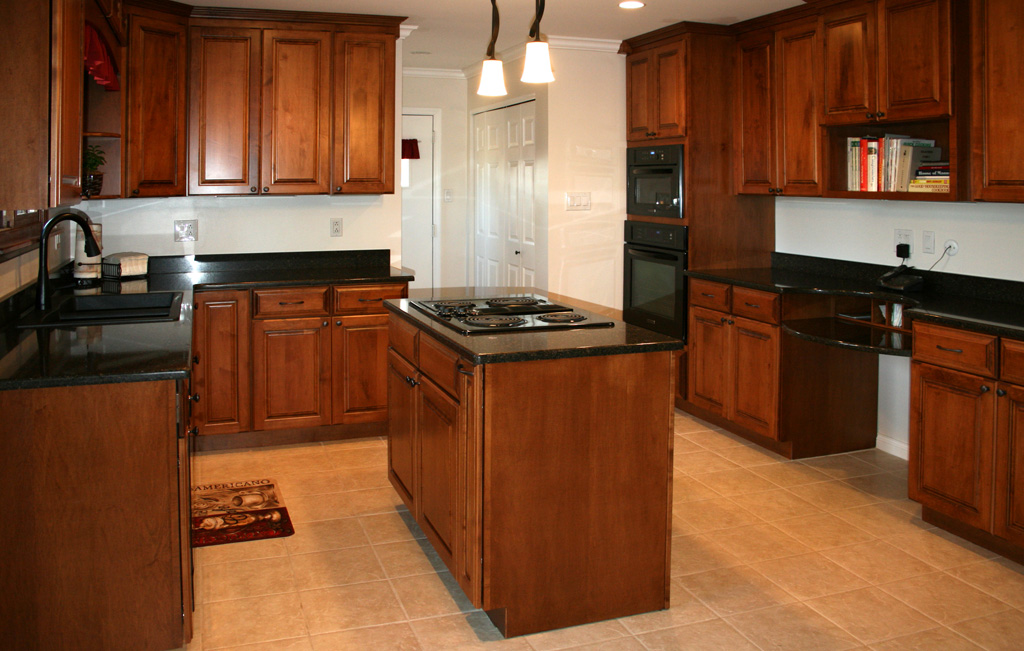 kitchen cabinets stains pictures photo - 1