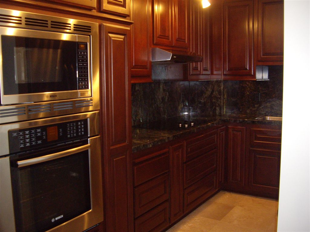 kitchen cabinets stains pictures photo - 5