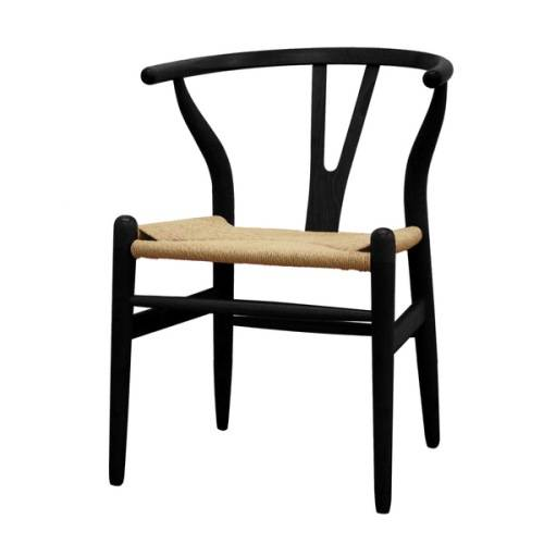 kitchen chairs black wood photo - 1