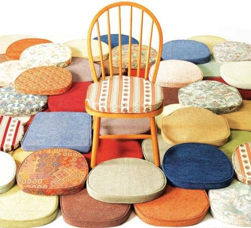 kitchen chairs cushions photo - 3