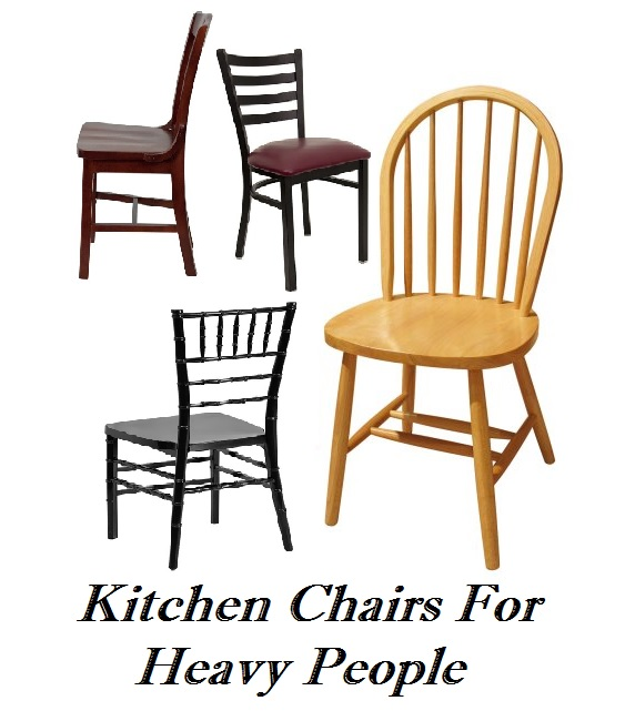 kitchen chairs for heavy people photo - 1