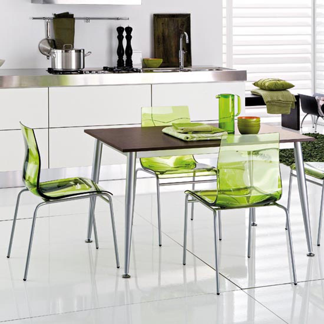 kitchen chairs green photo - 4