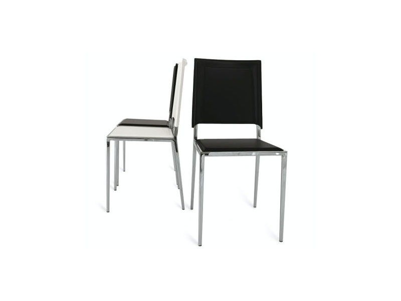 kitchen chairs metal frame photo - 5