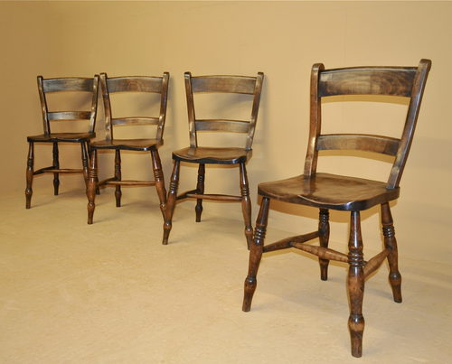 kitchen chairs set of 4 photo - 2