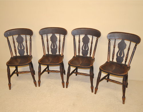 kitchen chairs set of 4 photo - 3