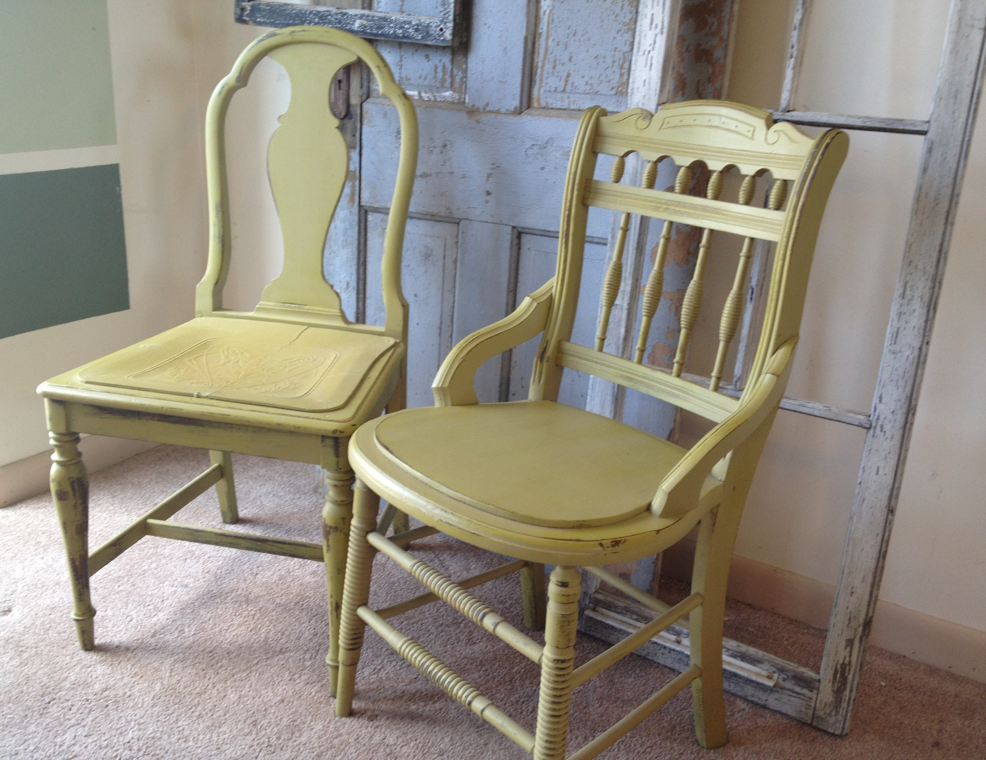 Kitchen chairs vintage