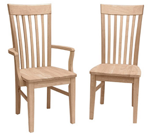 kitchen chairs with arms photo - 2