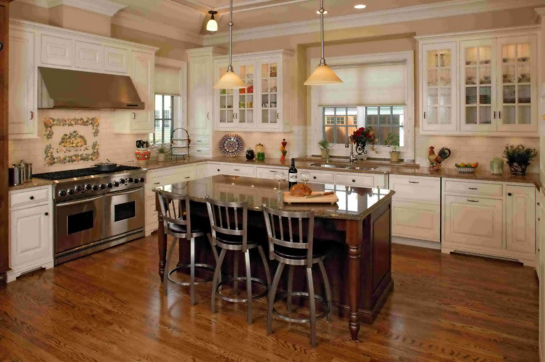 kitchen design ideas and colors photo - 4