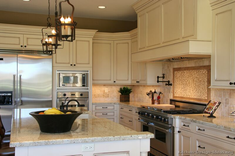 kitchen design ideas antique white photo - 2