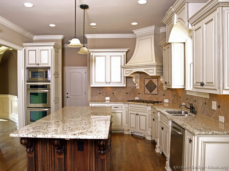 kitchen design ideas antique white photo - 5