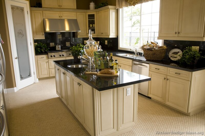 kitchen design ideas antique white photo - 6
