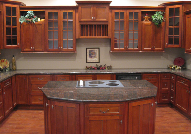 Kitchen Design Ideas With Cherry Cabinets kitchen design ideas cherry cabinets | interior & exterior doors