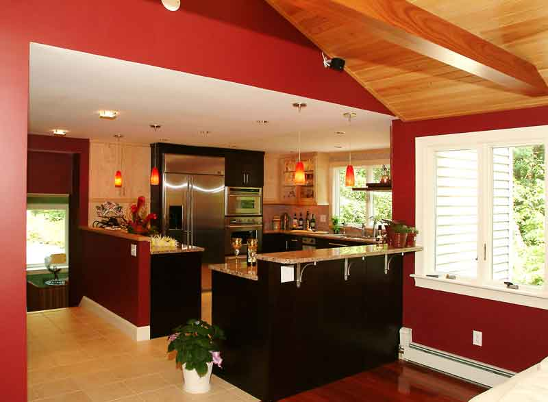 kitchen design ideas color schemes photo - 1