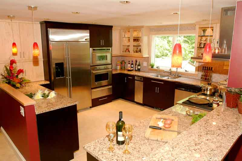 kitchen design ideas color schemes photo - 2