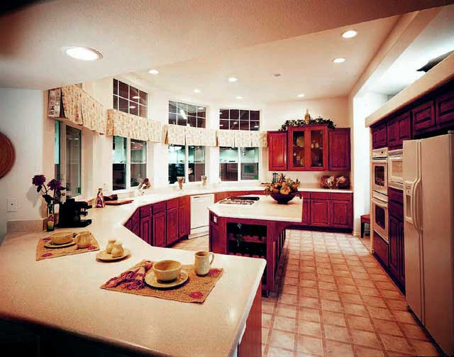 kitchen design ideas color schemes photo - 3