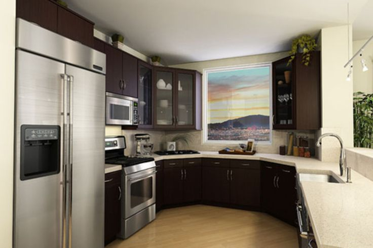 kitchen design ideas condo photo - 2
