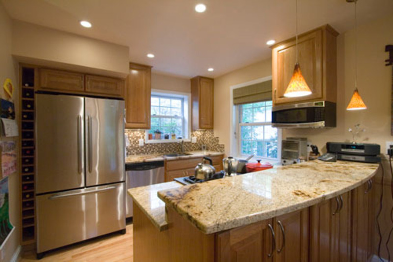 kitchen design ideas condo photo - 5