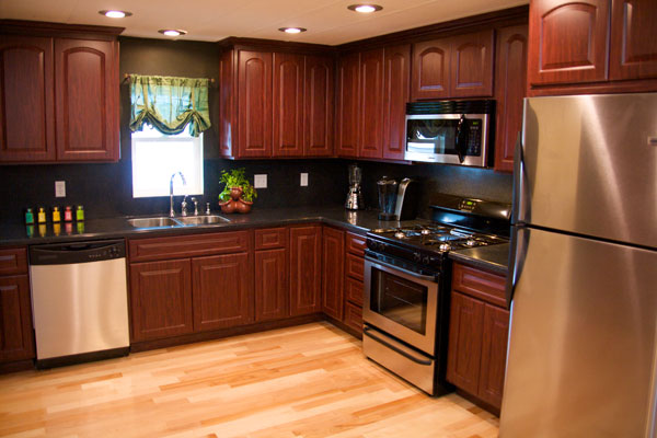 Kitchen design ideas for mobile homes make it simple and for Kitchen ideas limited