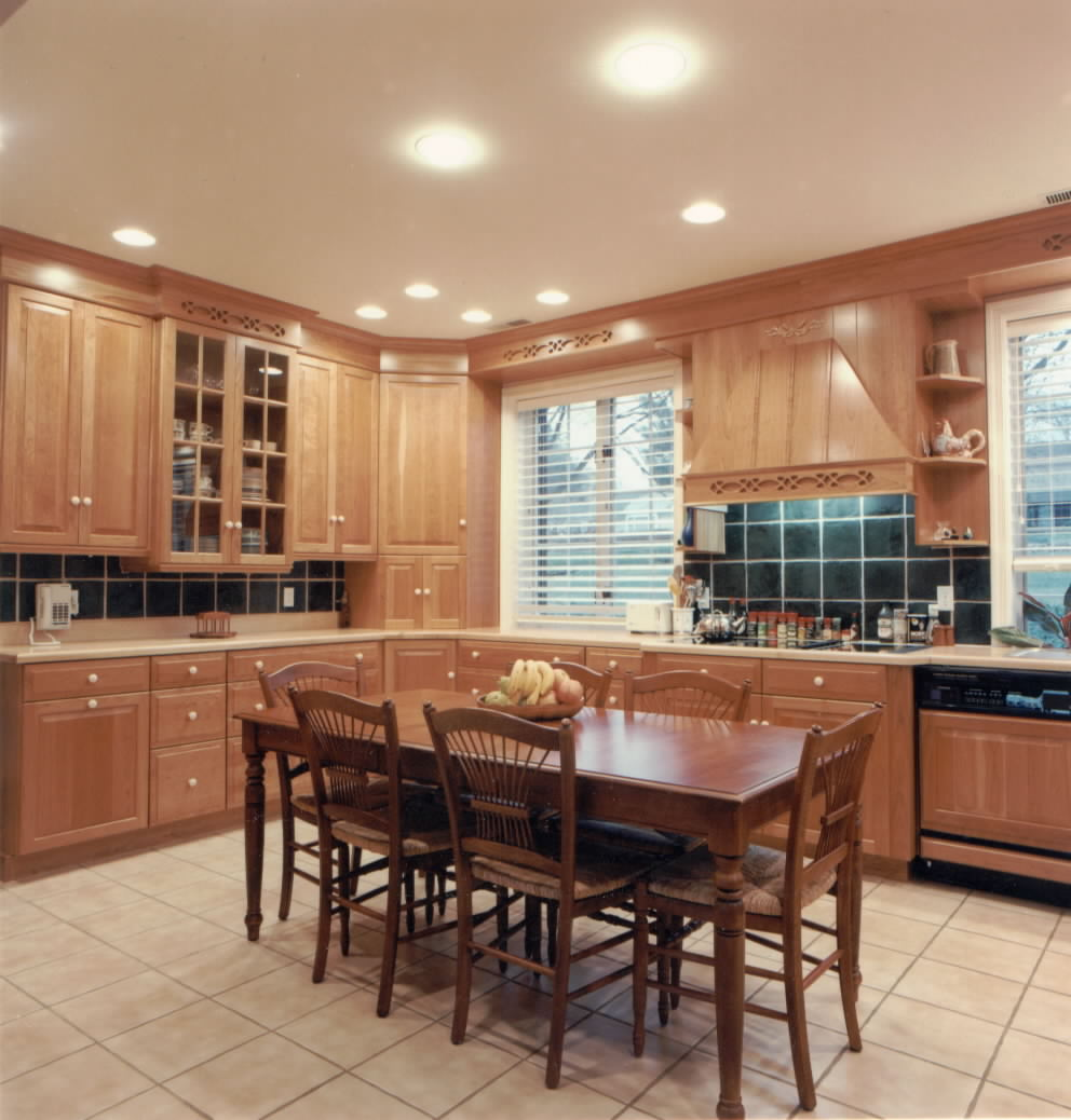 kitchen design ideas lighting photo - 1