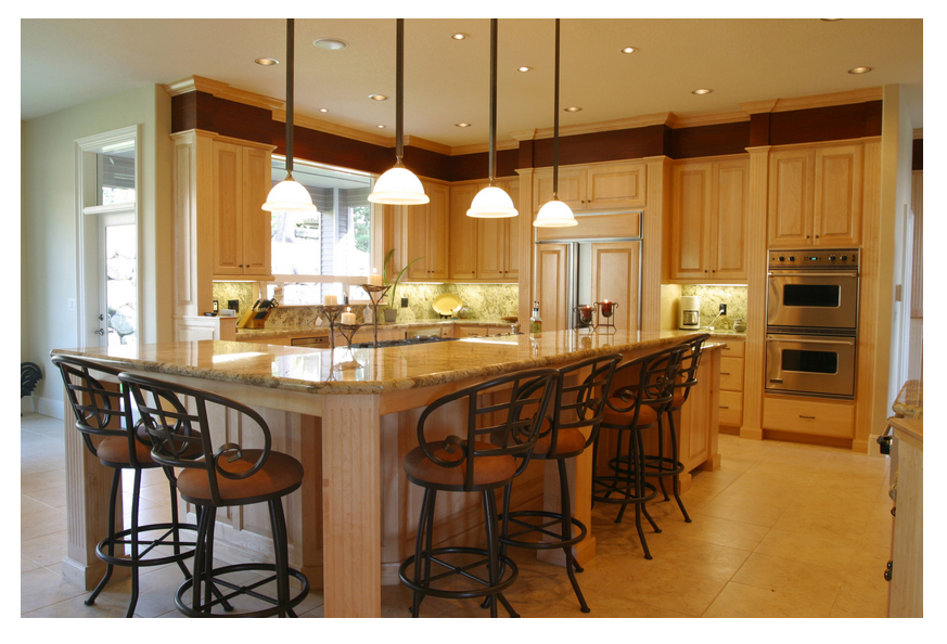 kitchen design ideas lighting photo - 2
