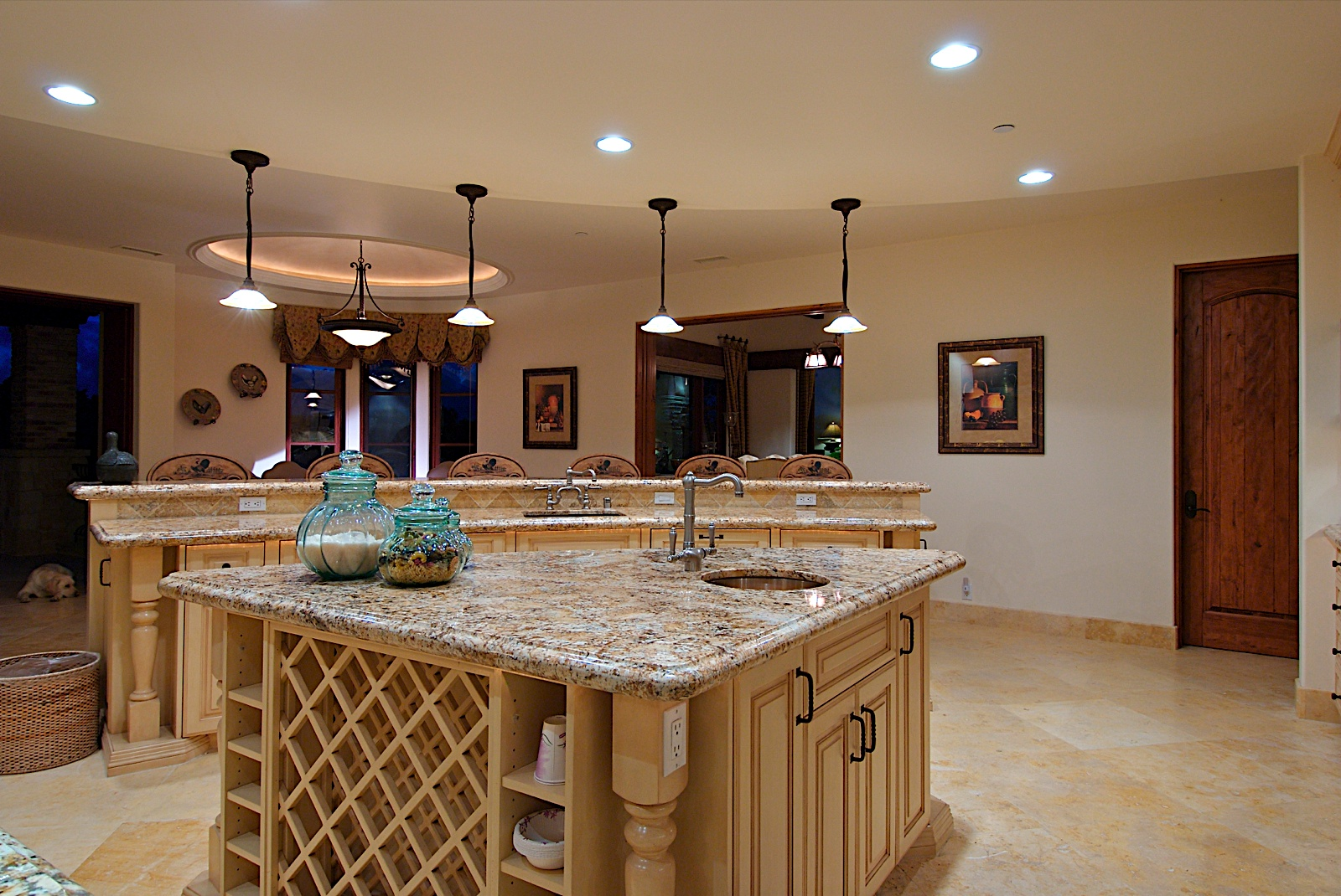 kitchen design ideas lighting photo - 4